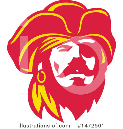 Pirate Clipart #1472501 by patrimonio
