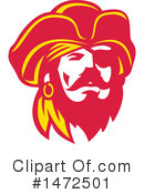 Royalty-Free (RF) Pirate Clipart Illustration #1472501