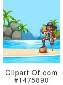 Royalty-Free (RF) Pirate Clipart Illustration #1475890