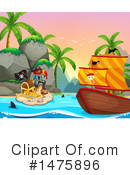 Royalty-Free (RF) Pirate Clipart Illustration #1475896