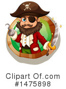 Royalty-Free (RF) Pirate Clipart Illustration #1475898