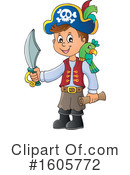 Pirate Clipart #1605772 by visekart