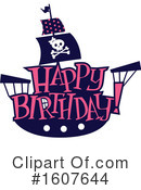 Pirate Clipart #1607644 by BNP Design Studio
