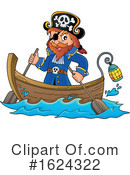 Pirate Clipart #1624322 by visekart