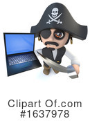 Pirate Clipart #1637978 by Steve Young