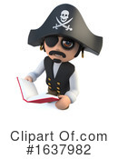 Pirate Clipart #1637982 by Steve Young