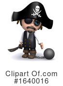 Pirate Clipart #1640016 by Steve Young