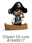 Pirate Clipart #1640017 by Steve Young