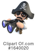 Pirate Clipart #1640020 by Steve Young