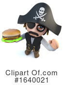 Pirate Clipart #1640021 by Steve Young