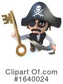 Pirate Clipart #1640024 by Steve Young