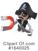 Pirate Clipart #1640025 by Steve Young