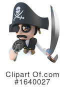 Pirate Clipart #1640027 by Steve Young