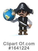 Pirate Clipart #1641224 by Steve Young