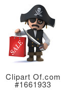 Pirate Clipart #1661933 by Steve Young