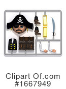 Pirate Clipart #1667949 by Steve Young