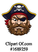 Pirate Clipart #1689259 by AtStockIllustration