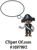 Pirate Clipart #1697992 by Steve Young