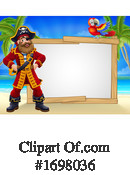 Pirate Clipart #1698036 by AtStockIllustration