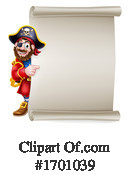 Pirate Clipart #1701039 by AtStockIllustration