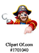 Pirate Clipart #1701040 by AtStockIllustration