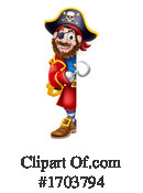 Pirate Clipart #1703794 by AtStockIllustration