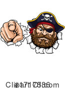 Pirate Clipart #1717586 by AtStockIllustration