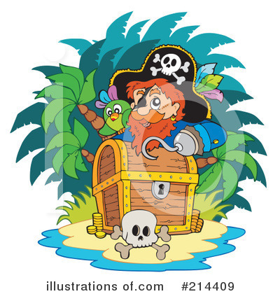 Pirate Clipart #214409 by visekart
