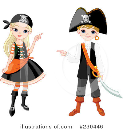 Pirate Clipart #230446 by Pushkin