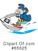 Royalty-Free (RF) pirate Clipart Illustration #65625