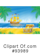 Royalty-Free (RF) Pirate Clipart Illustration #93989