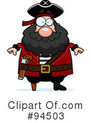 Pirate Clipart #94503 by Cory Thoman