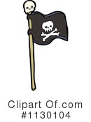 Pirate Flag Clipart #1130104