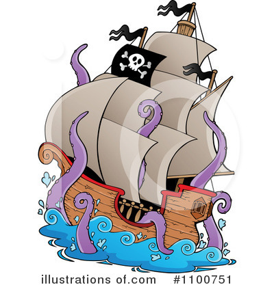 Ship Clipart #1100751 by visekart