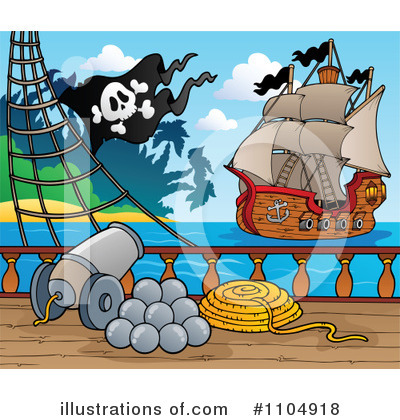 Pirate Clipart #1104918 by visekart