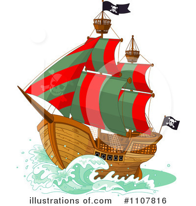 Pirate Clipart #1107816 by Pushkin