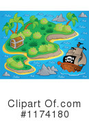 Royalty-Free (RF) Pirate Ship Clipart Illustration #1174180