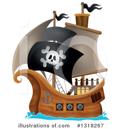 Ship Clipart #1318267 by visekart