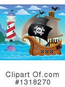 Pirate Ship Clipart #1318270