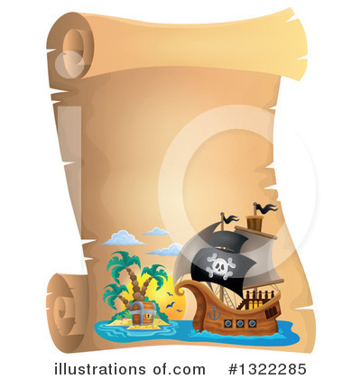 Pirate Ship Clipart #1322285 by visekart