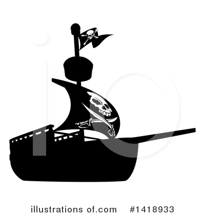 Pirate Clipart #1418933 by AtStockIllustration