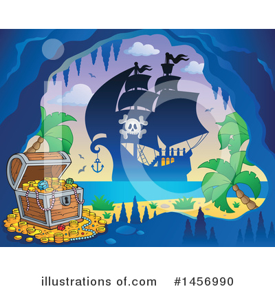 Island Clipart #1456990 by visekart