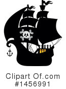 Pirate Ship Clipart #1456991 by visekart
