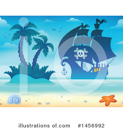 Island Clipart #1456992 by visekart