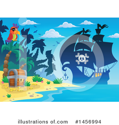 Island Clipart #1456994 by visekart