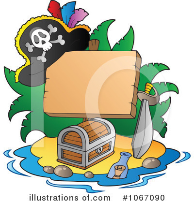 Pirate Clipart #1067090 by visekart
