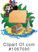 Royalty-Free (RF) Pirates Clipart Illustration #1067090