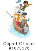 Royalty-Free (RF) Pirates Clipart Illustration #1070976