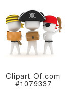 Royalty-Free (RF) Pirates Clipart Illustration #1079337