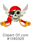 Royalty-Free (RF) pirates Clipart Illustration #1080325
